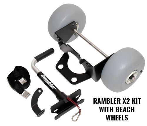 YETI Wheels – Rambler X2 Kit With Beach Wheels