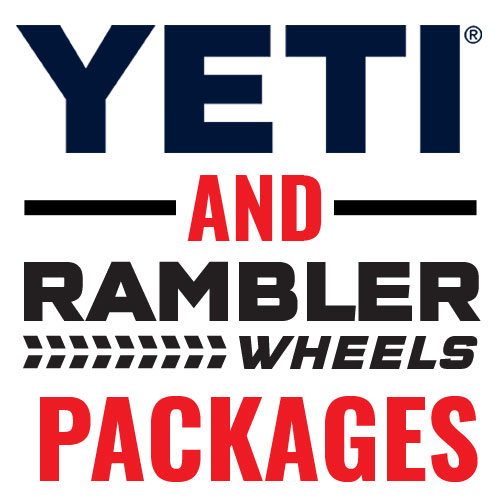 YETI And Rambler Wheels Packages