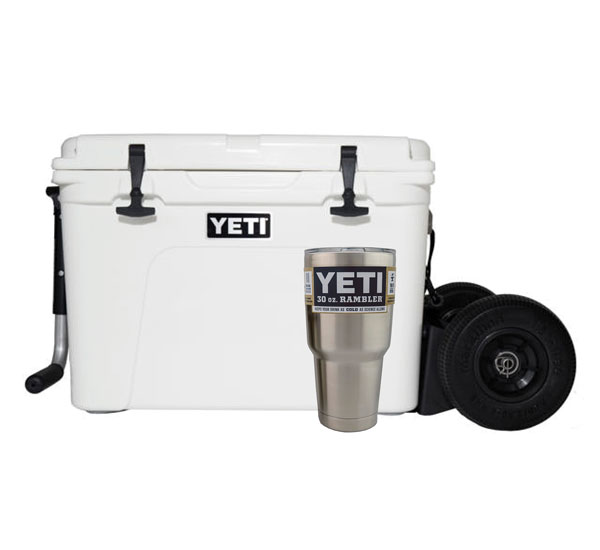 YETI Tundra 105 with Rambler X2