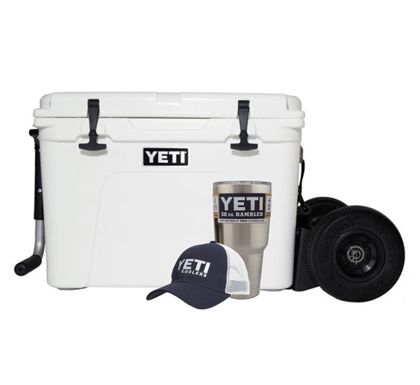 YETI Tundra 125 with Rambler X2