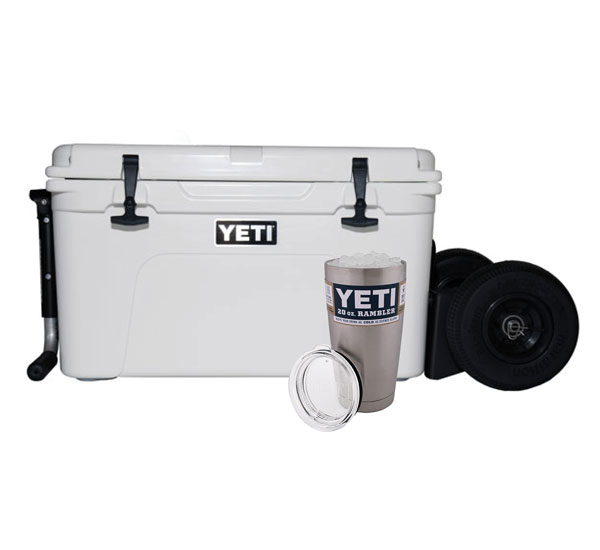 YETI Tundra 65 With Rambler X2