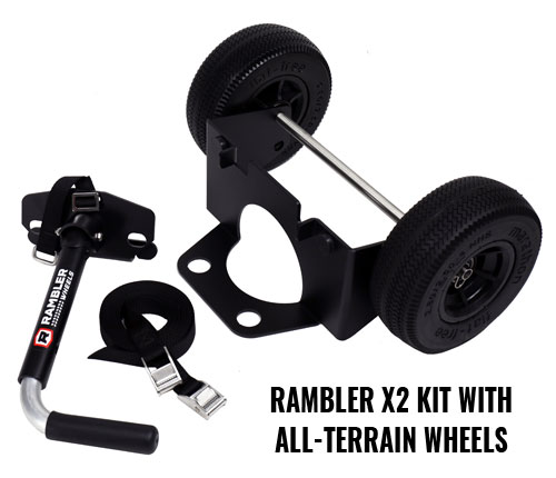 YETI Wheels – Rambler X2 Kit With All Terrain Wheels