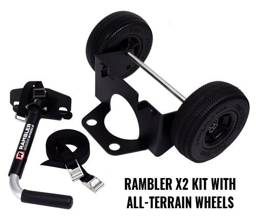 YETI Wheels – Rambler X2 Kit With All Terrain Wheels