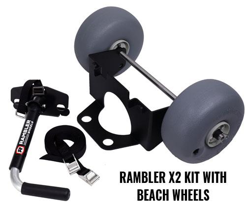 YETI Wheels – Rambler X2 Kit With Beach Wheels