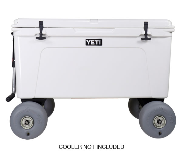 Rambler X4 Beach Wheels for YETI Coolers